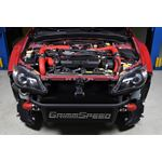 Front Mount Intercooler Kit (Inc. Red Piping) fo-3