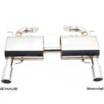 GTHAUS HP Touring Exhaust- Stainless- BM0421102-3