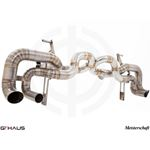 GTHAUS Super GT Racing Exhaust- Titanium- LA013240