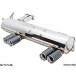 GTHAUS GT Racing Exhaust- Stainless- BM0211204-3