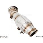 GTHAUS (N55 M235i) Turbo Back Down Pipe - no cat-