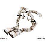 GTHAUS Super GT Racing Exhaust- Titanium- LA0222-3