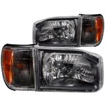 ANZO 1999-2004 Nissan Pathfinder Crystal Headlight