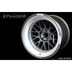 PANDEM 6666 WHEELS 18x11 -40, 5-100, GUNMETAL (6-3
