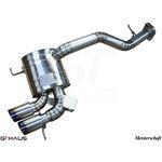 GTHAUS GT Racing Exhaust- Titanium- BM0112201-3