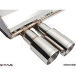 GTHAUS GT Racing Exhaust- Stainless- BM0351201-3