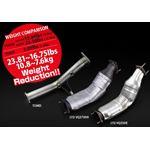 FULL TITANIUM CAT STRAIGHT PIPE KIT EXPREME Ti Z33 VQ35DE TB6100 NS04A 3