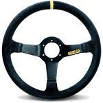 Sparco R345 Racing Steering Wheel, Black Suede (01