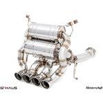 GTHAUS Super GT Racing Exhaust- Titanium- LA0312-3