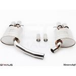 GTHAUS GT Racing Exhaust- Stainless- AU0821202-3