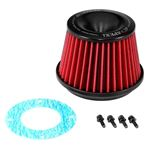 APEXi® 500-A023 - Power Round Tapered Red Air