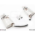 GTHAUS GT Racing Exhaust- Stainless- AU0821202