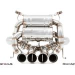 GTHAUS Super GT Racing Exhaust- Stainless- LA03114