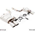 GTHAUS GTC Exhaust (EV Control)- Stainless- BM1111