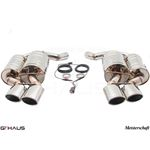 GTHAUS GTC Exhaust (EV Control) AL Shield Includ-3