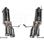GTHAUS GT Racing Exhaust- Titanium- BM1912204-3