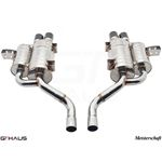 GTHAUS HP Touring Exhaust- Stainless- BM0811104-3