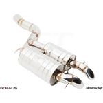 GTHAUS HP Touring Exhaust- Stainless- BM1711100