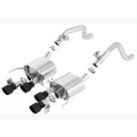 Borla Axle-Back Exhaust System - S-Type (11855CB)