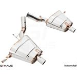 GTHAUS GT Racing Exhaust- Stainless- BM2211200