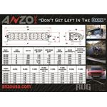 ANZO Rugged Off Road Light 6in 3W High Intensity L