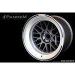 PANDEM 6666 WHEELS 18x9.5 -30, 5-114, GUNMETAL (-3