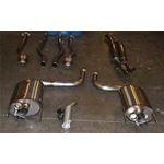 PPE Lexus IS - F True Dual Exhaust - Dual Mode Muf