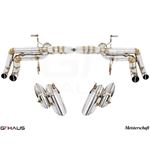 GTHAUS Super GT Racing Exhaust- Stainless- LA04114