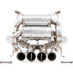 GTHAUS Super GT Racing Exhaust- Titanium- LA031240