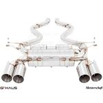 GTHAUS HP Touring Exhaust (Includes SUS SR Pipes-3