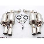 GTHAUS GTC Exhaust (EV Control)- Stainless- BM13-3