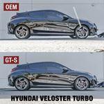 Ark Performance GT-S Lowering Springs; Hyundai Veloster N (LS0713-1900)