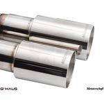 GTHAUS GT Racing Exhaust- Stainless- BM0361201-3