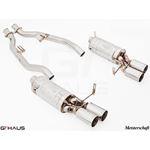 GTHAUS GT Racing Exhaust- Stainless- BM2011204-3