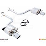 GTHAUS GTC Exhaust (EV Control)- Stainless- LE0411
