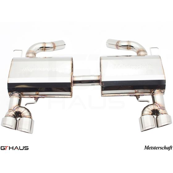 GTHAUS HP Touring Exhaust- Stainless- BM0411104-3