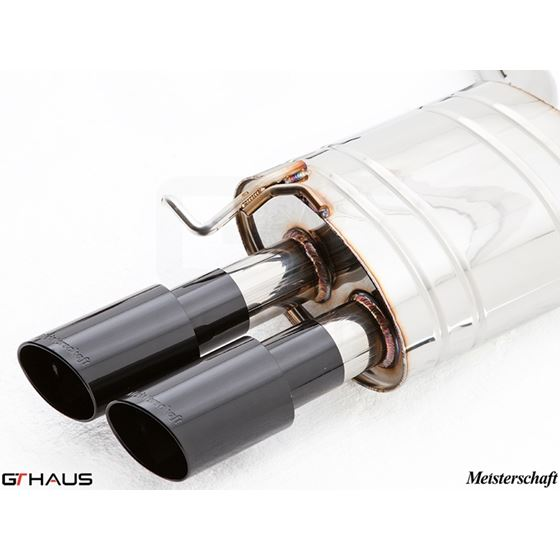 GTHAUS GT Racing Exhaust- Stainless- AU0611204-3