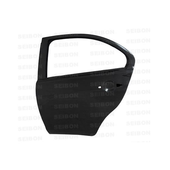Carbon fiber doors for 2008-2013 Mitsubishi Lancer EVO X (REAR)  OFF ROAD USE ONLY.