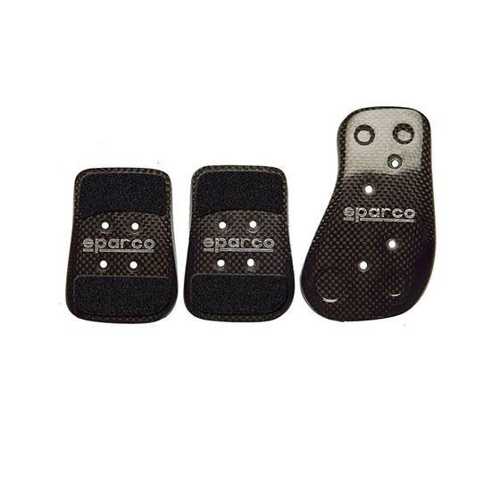 Sparco Pedal Set, Carbon Fiber, Set of 3 (03783L)