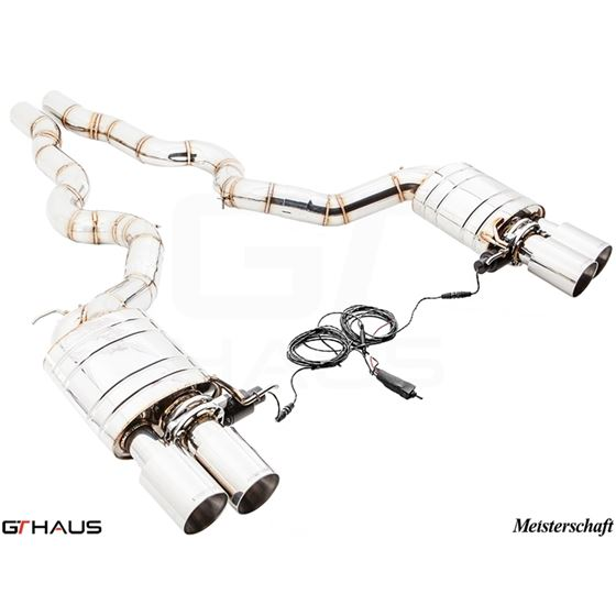 GTHAUS GTC Exhaust (EV Control)- Stainless- BM2711