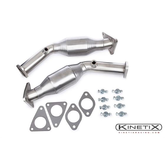 Kinetix Racing High Flow Catalytic Converter Set (