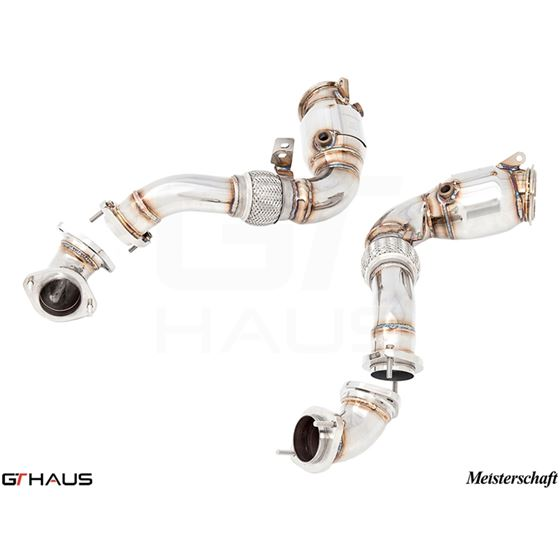 GTHAUS Down Pipe Section (X6M S63 / X6 5.0i)- St-3