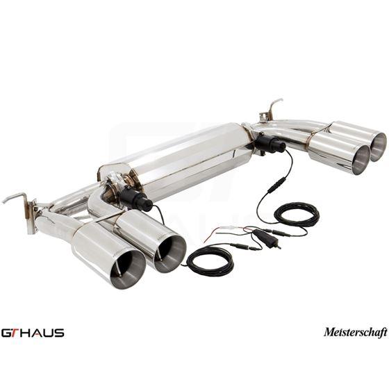 GTHAUS GTC Exhaust (EV Control)- Stainless- BM3031