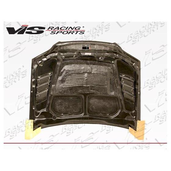 VIS Racing G Speed Style Black Carbon Fiber Hood-3