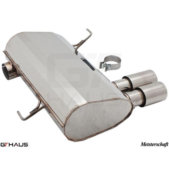 GTHAUS GT Racing Exhaust- Stainless- BM0331201