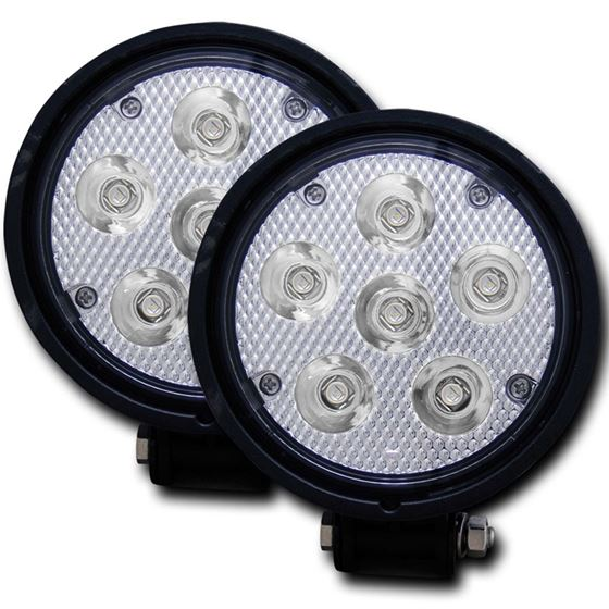 ANZO 4.5in Round High Power LED Fog Light (881002)