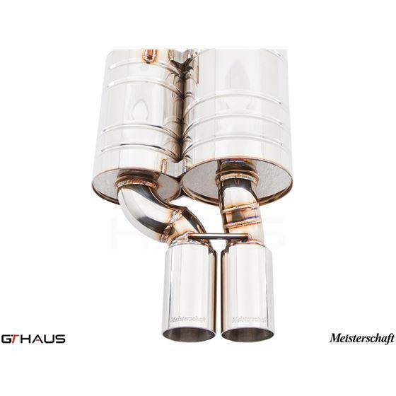 GTHAUS GT Racing Exhaust- Stainless- BM0711222-3