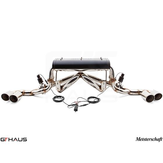 GTHAUS GTC Exhaust EV Control- Stainless- FE0111-3