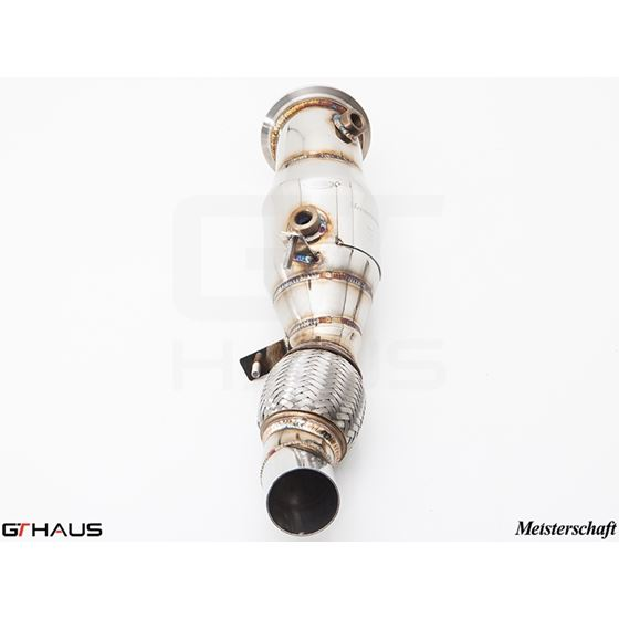 GTHAUS (N55 435i) Turbo Back Down Pipe - no cat- S