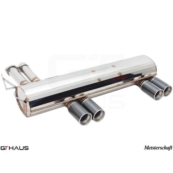 GTHAUS GT Racing Exhaust- Stainless- BM0211204